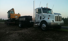 Trucks And Backhoes